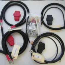 Dodge Battery Cable Kit for Gen 2.5 (1998.5 - 2002), 2/0 #788