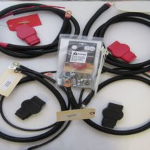 Dodge Battery Cable Kit for Gen 3 (2003 - 2007), 2/0 #790