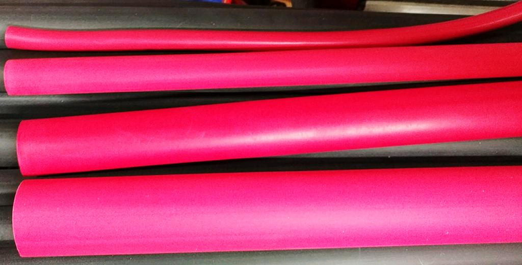 Adhesive-Lined Heat Shrink - Heavy Wall - 0.75 dia for 2 to 2/0 ga