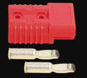 350A Anderson Style Power Connector with silver contacts